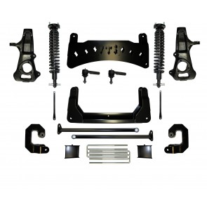 """2008-2017 10"""" CHEVY / GMC 1500 2WD EMULSION COILOVERS KIT  (FACTORY STEEL SUSPENSION)"""