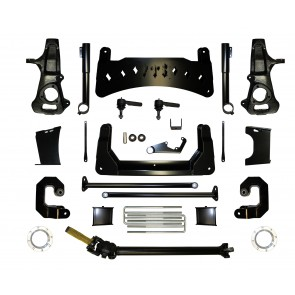 "2008-2017 10"" CHEVY / GMC 1500 4WD BASIC SPINDLE KIT  (FACTORY STEEL SUSPENSION)"