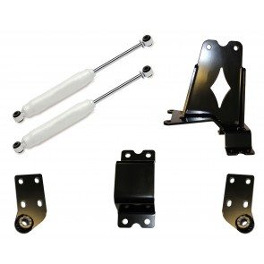 DOUBLE STEERING STABILIZER W/ BASIC HYDRAULIC STABILIZERS