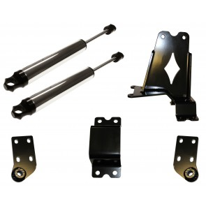 DOUBLE STEERING STABILIZER W/ FTS 2.0 CHROME STABILIZERS