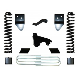 "2008-2013 FORD F350 6"" BASIC KIT W/ REAR BLOCKS"