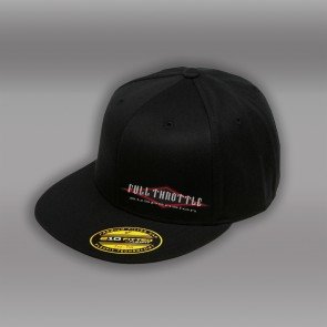 BLACK FULL THROTTLE FITTED HAT