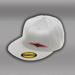 WHITE FULL THROTTLE FITTED HAT