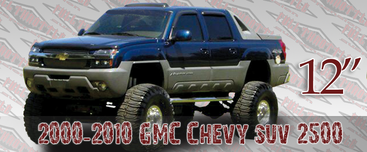2000-2010 GM 2500 LIFT KIT