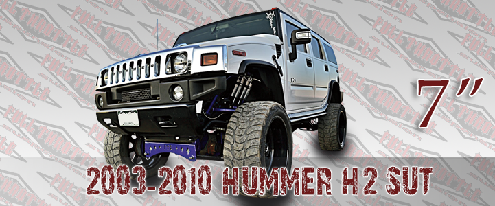 hummer full throttle lift kits
