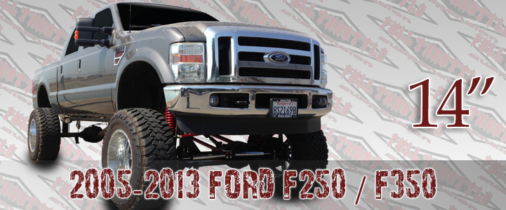 2005 ford f250 4x4 leveling kit