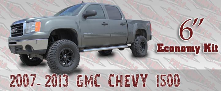 2007-2013 GM 1500 LIFT KIT