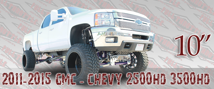 2011-2013 GM 2500 3500 LIFT KIT