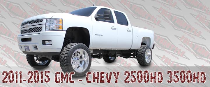 2011-2013 GM 2500 3500 LIFT KIT
