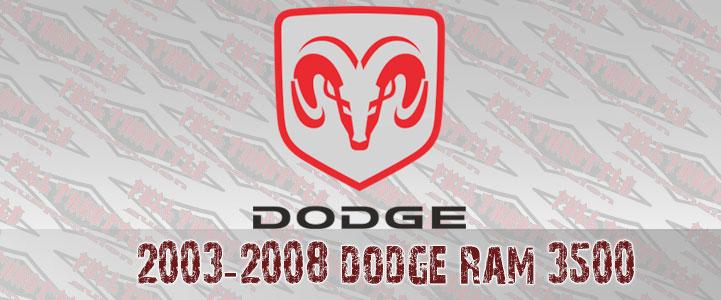 DODGE RAM 3500 LIFT KIT