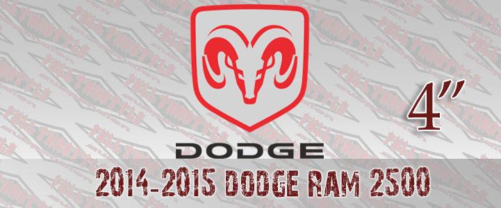 DODGE RAM 2500 LIFT KIT
