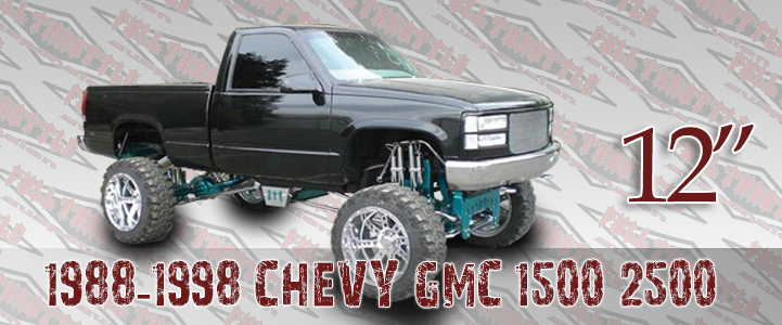 1988-1998 GM 1500 LIFT KIT