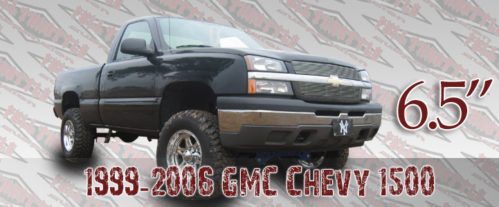 1999-2006 GM 1500 LIFT KIT