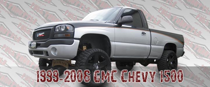 1999-2006 GM 1500 LIFT KIT